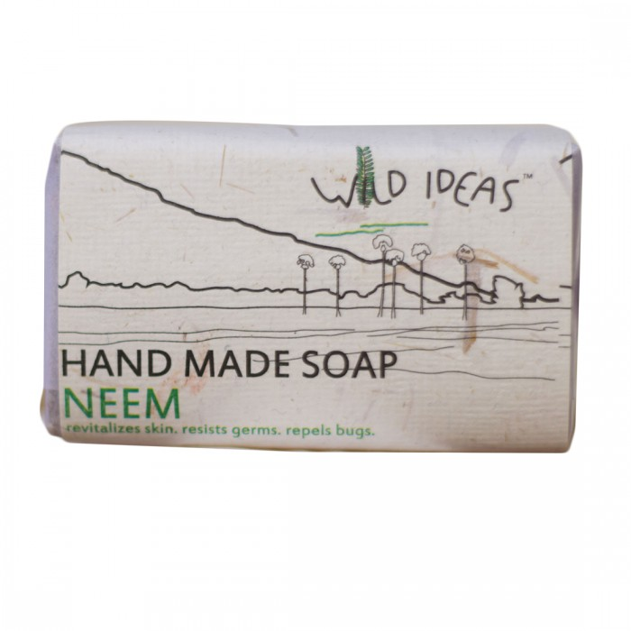 Wild Ideas Hand Made Soap - Neem (Pack Of 2)