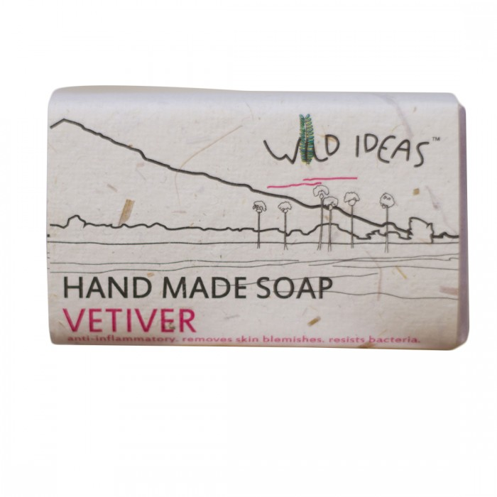 Wild Ideas Hand Made Soap - Vetiver (Pack Of 2)