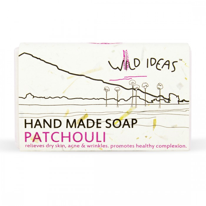 Wild Ideas Hand Made Soap - Patchouli (Pack Of 2)