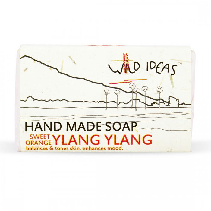 Wild Ideas Hand Made Soap - Sweet Orange/Ylang Ylang (Pack Of 2)