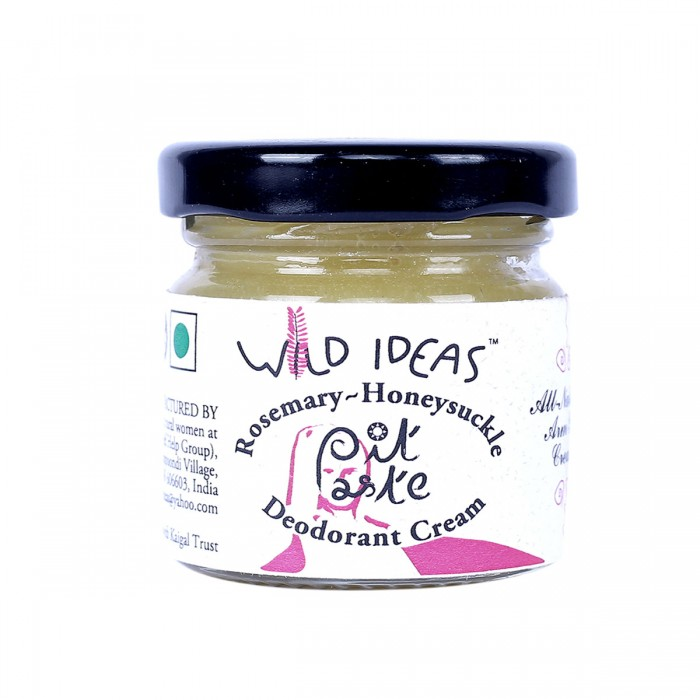 Wild Ideas Pit Paste Deodorant Cream: Rosemary - Honeysuckle