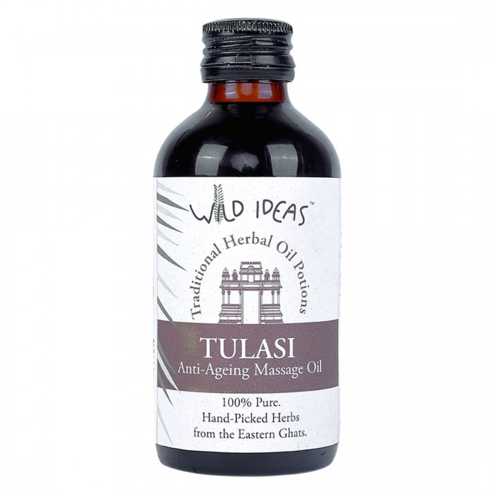 Wild Ideas Traditional Herbal Oil Potions Tulasi Anti Ageing Massage Oil