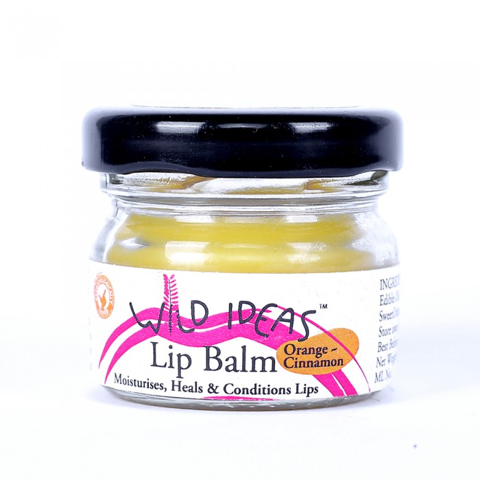 Wild Ideas Lip Balm Orange & Cinnamon