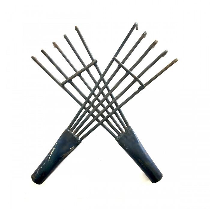 Metal Rake (Khamba Accessory)