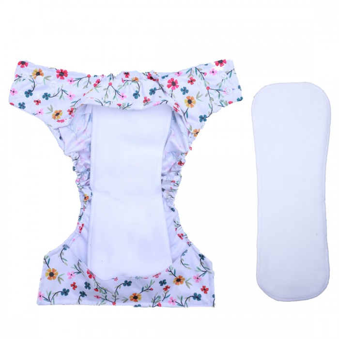 A Toddler Thing - Cover Diaper -Pink&Petals