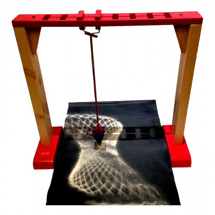 Skola Wooden Toys Sand Pendulum, 58.9 x 29.4 x 10.2cm (Multicolour)