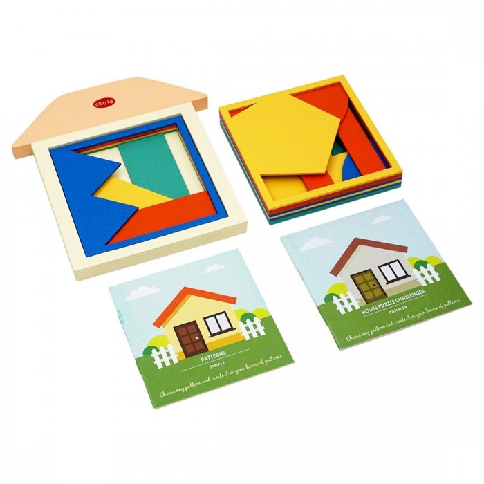 Skola Toys House of Patterns - Replicate Patterns through Complex Layering