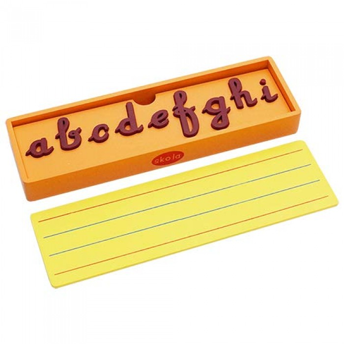 Skola Toys Alphabet Puzzle Trays - Cursive Letters