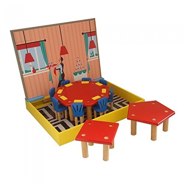 Skola Toys Restaurant Geometry - Correlate Geometry to Arithmetic