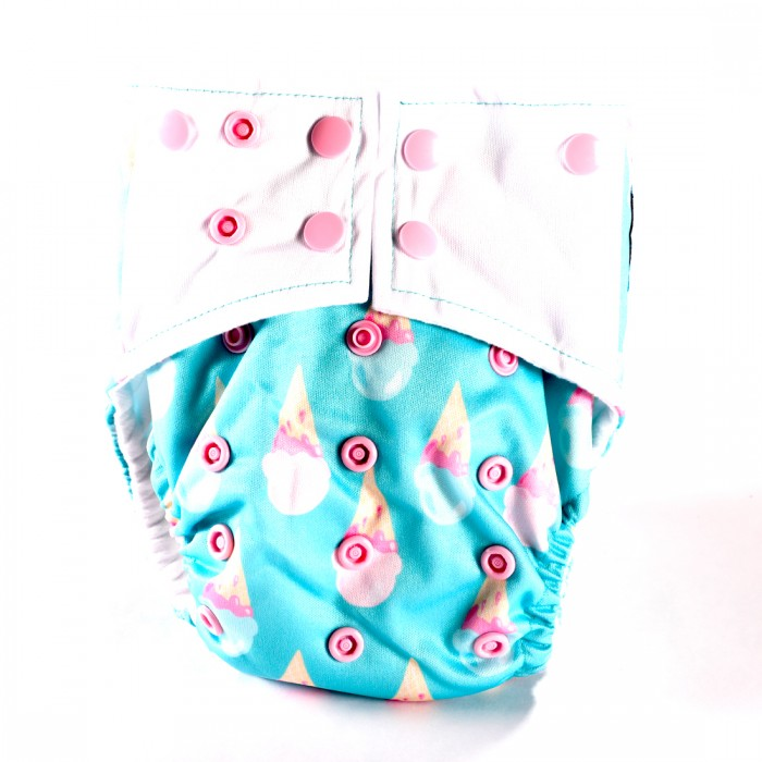 Bum 2 Bum Freezeo Bum All In One Diaper With 2 Inserts