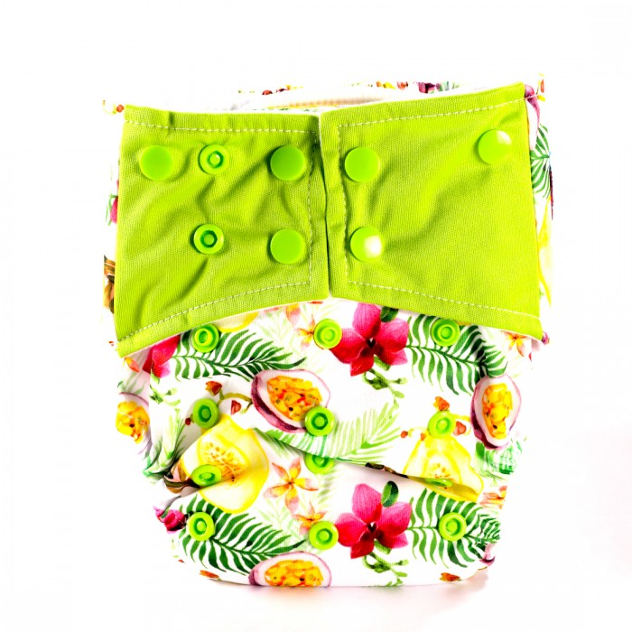Bum 2 Bum Fruit Of Leaf Bum All In One Diaper With 2 Inserts