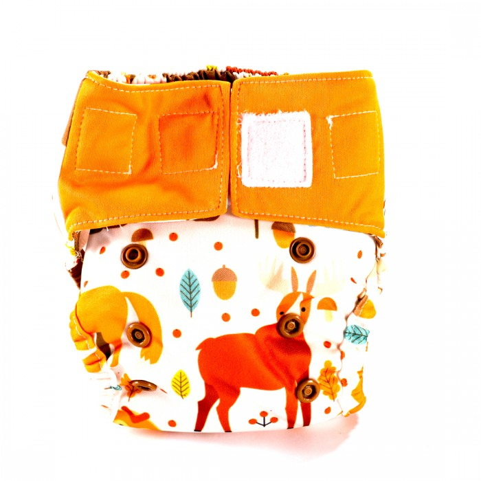 Bum 2 Bum Jungle Bum New Born Diaper With 2 Inserts
