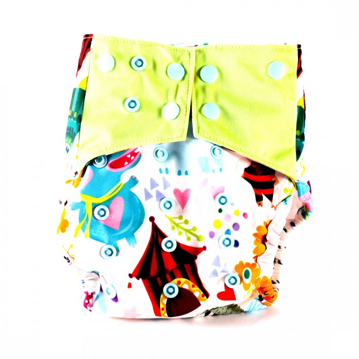 Bum 2 Bum Shikha Bum One Size Cover Diaper With 2 Inserts