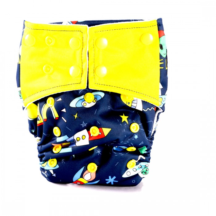 Bum 2 Bum Space Bum All In One Diaper With 2 Inserts