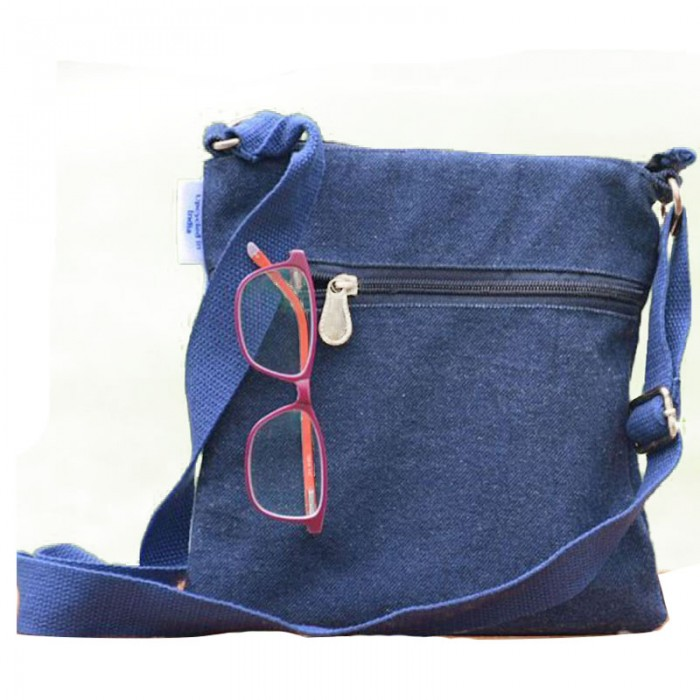 dwij Swift Bag Made Up Of Upcycled Jeans - Eco Friendly / Unique / Trendy / Washable / Durable