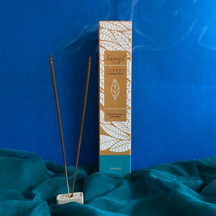 Esscent Jasmine-Premium Flower Based Incense Sticks