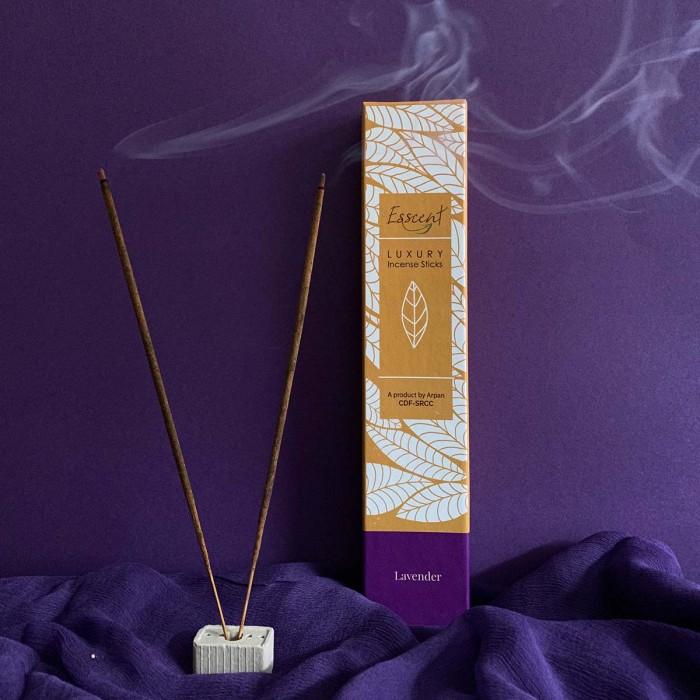 Esscent Lavender-Premium Flower Based Incense Sticks