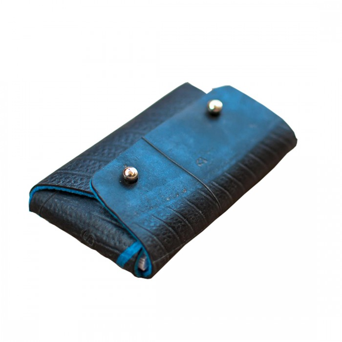 Studio ABCD Business Card Holder Rubber+Felt - Upcycled Tyre Tube And Recycled Felt