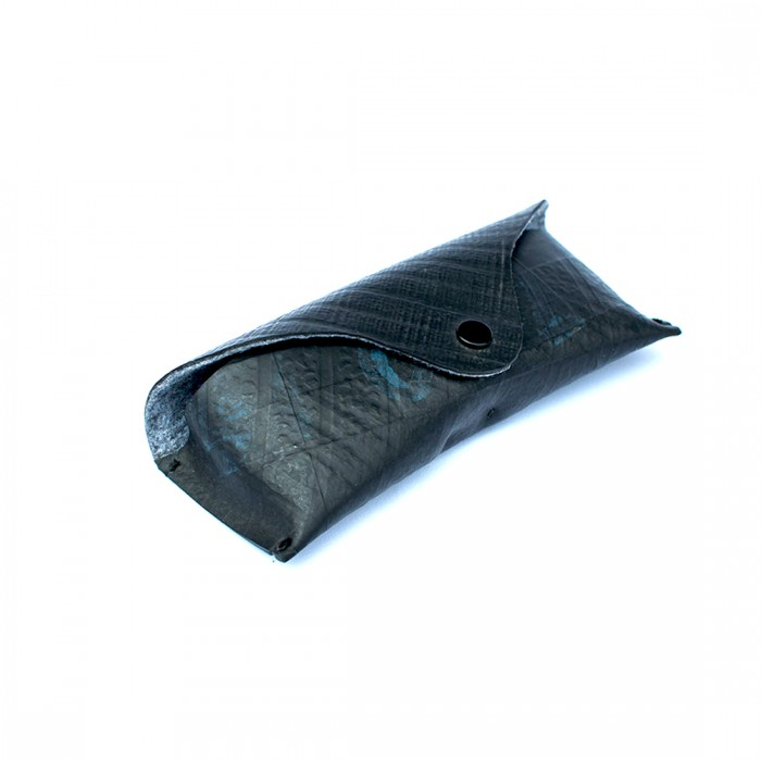 Studio ABCD Upcycled Tyre Tube Goggle Case - Upcycled Tyre Tube And Recycled Felt