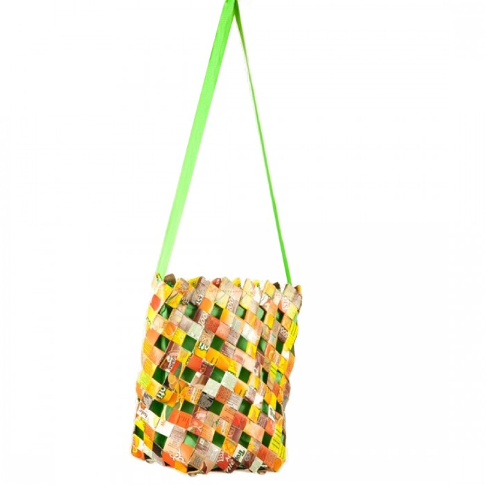 Anu Life-Small Shopping Bag-Upcycled Tetra Pack