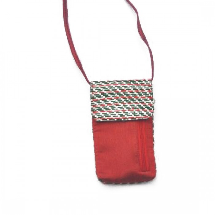 Anu Life-Phone Sling Pouch-Upcycled Rice Bag