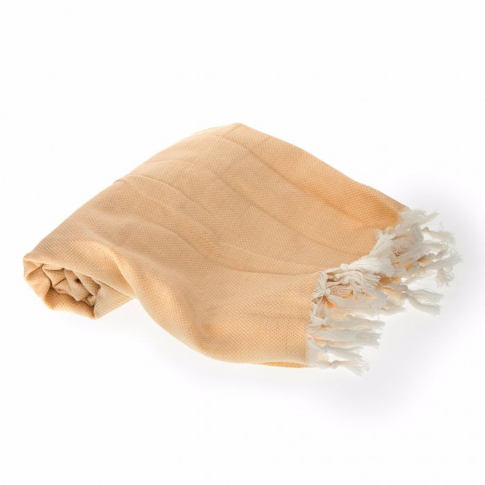 Conscience Annatto Gold Coloured Herbal Towel / Organic Cotton - 1 Towel