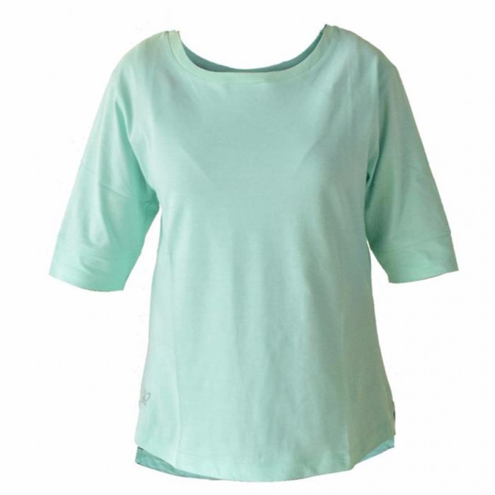 Deivee - Cabbage Green Yoga T-Shirt - Organic Cotton