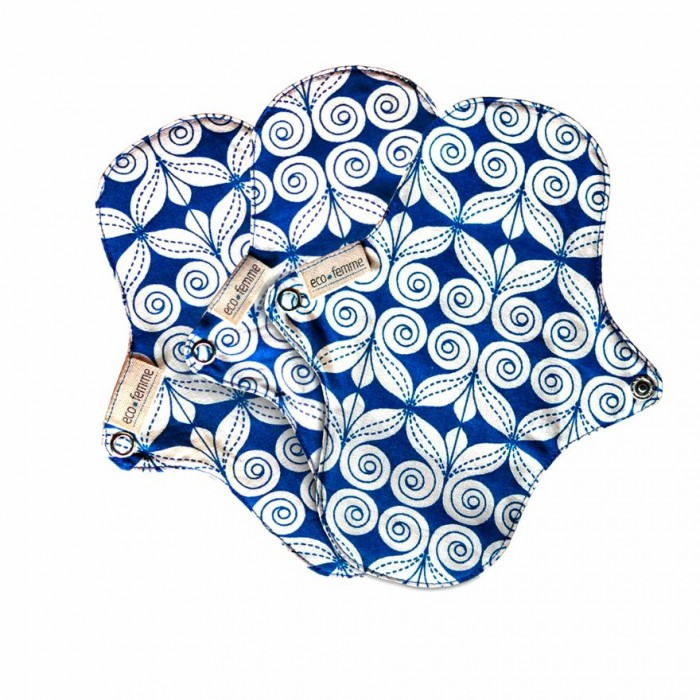 Eco Femme Natural Organic Pantyliners With PUL (Pack of 3)