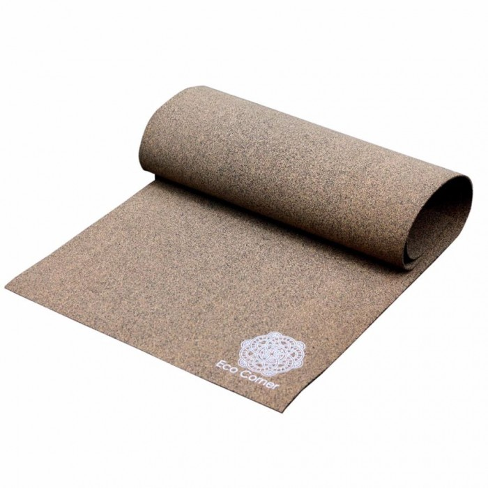 Eco Corner Textured Cork Yoga Mat