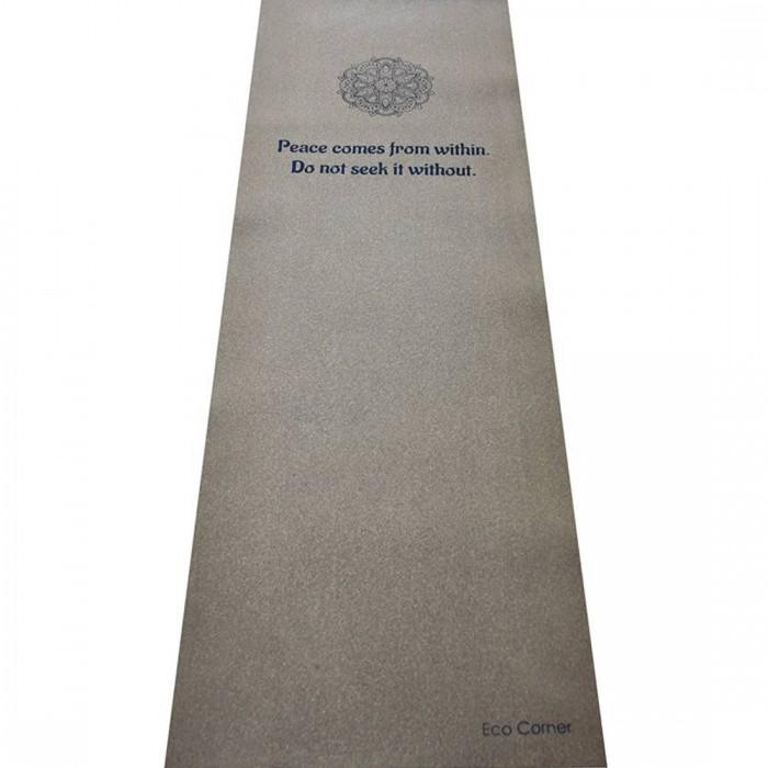 Eco Corner - Mandala Yoga Mat - Made of Cork