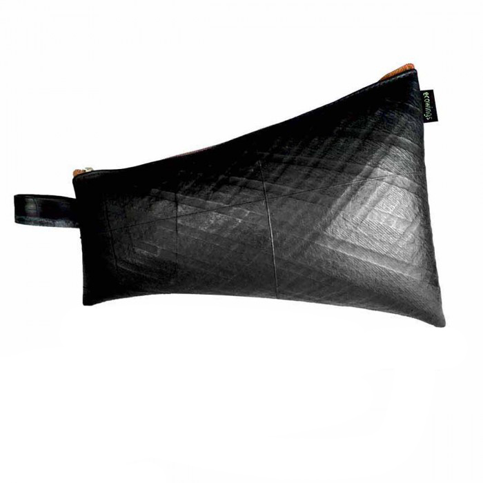 Ecowings Travelling Pouch-Orange - Upcycled Tyre Tube