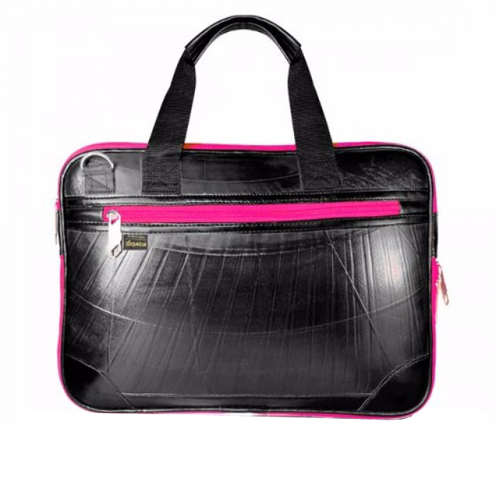 Ecowings Mac book case-Pink - Upcycled Tyre Tube