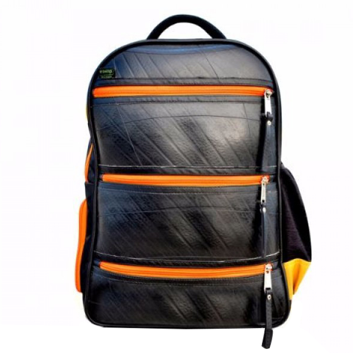 Ecowings Back pack - Upcycled Tyre Tube