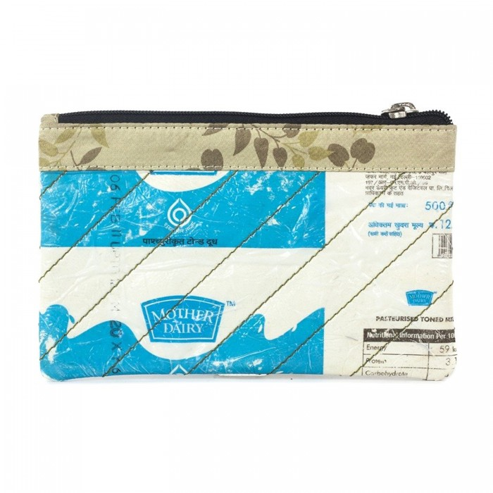 Green the Map Mother Dairy Pouch-Milk Packaging material, Fabric, Magnetic strap