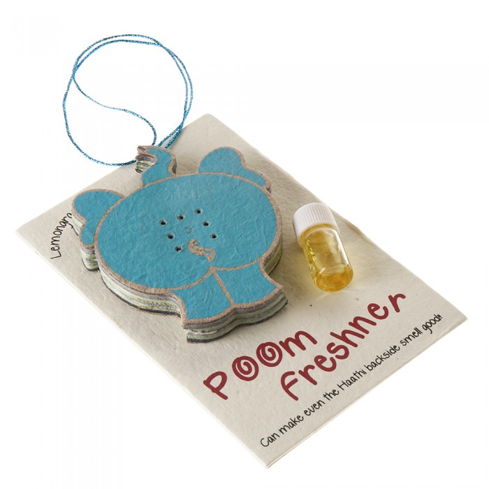 Haathi Chaap Poom Freshner- Recycled Elephant Dung Paper