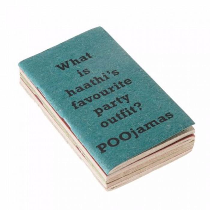 Haathi Chaap Joke Note Books / Sooper Pooper Diaries ( Set Of 5 ) - Ele Poo Paper