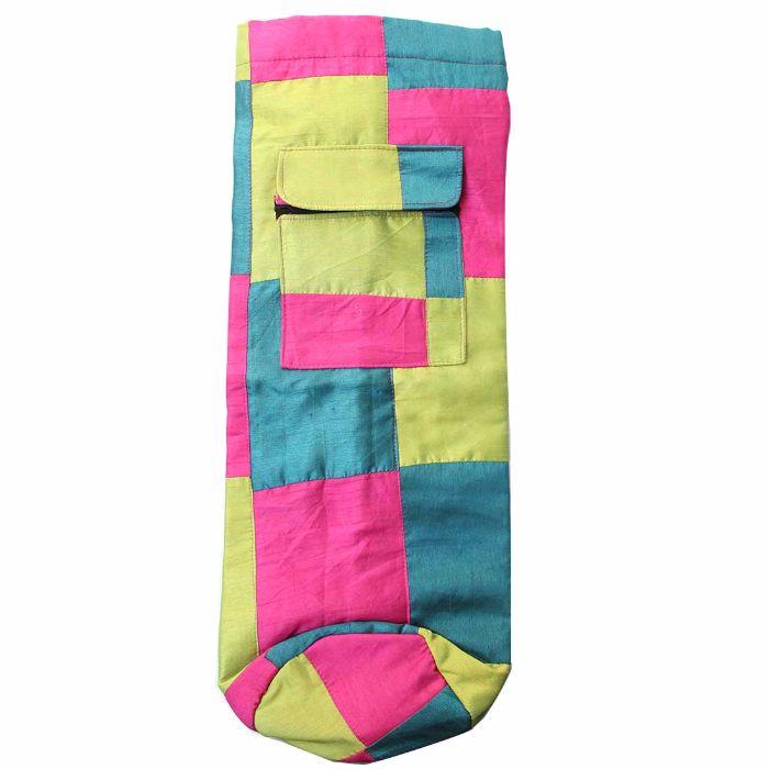 Jugaad Yoga Mat Bag Silk-Fabric
