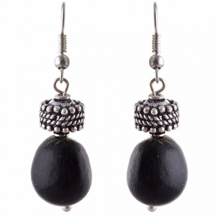 Jungle Jewels Mystic Black-Seeds And Beads