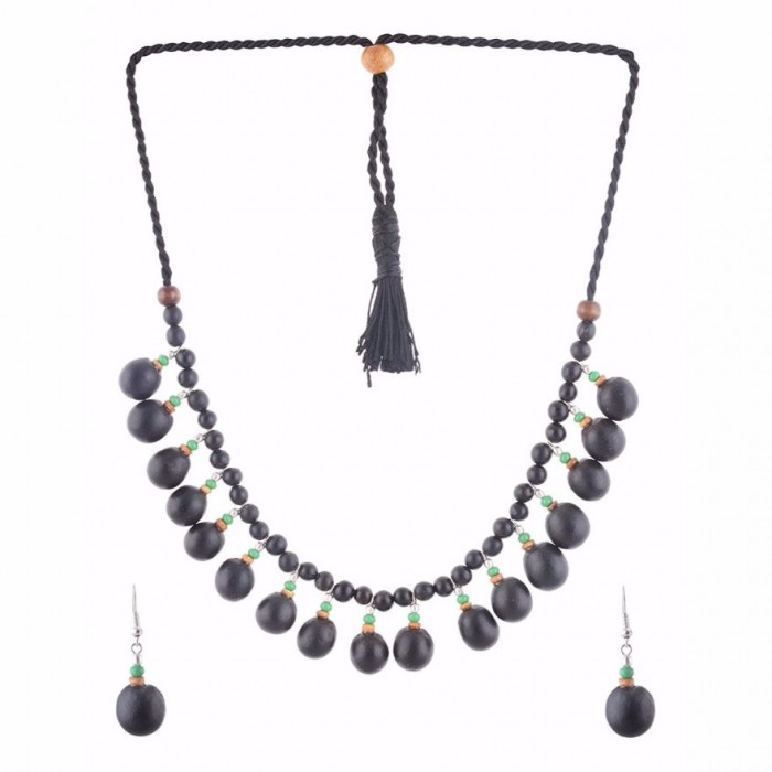 Jungle Jewels - Mix em up - Necklace with earrings
