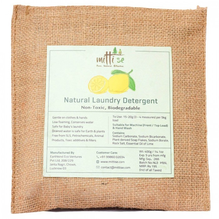 Mitti Se - Natural Laundry Detergent 400 G