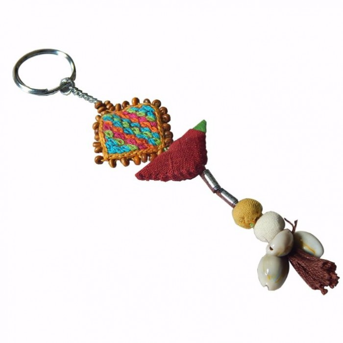 Porgai Key Ring-Fabric