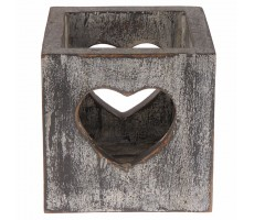 Punar Heart Multipurpose box-Grey