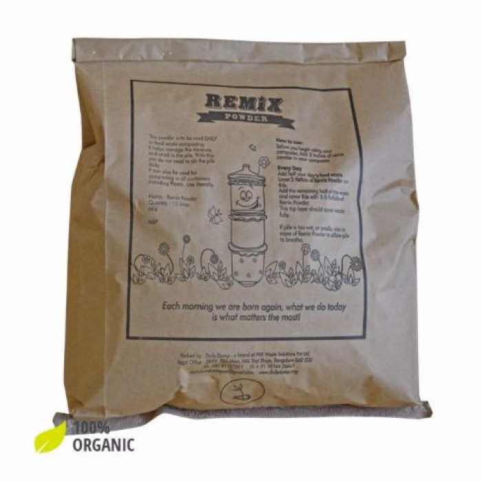 Daily Dump Remix Powder - Cocopeat And Compost Enabling Microbes