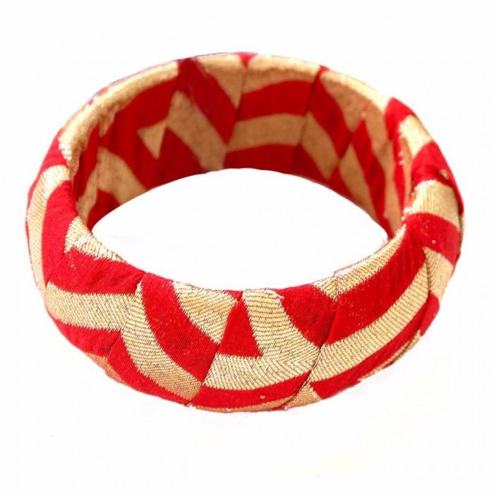 Sanchali Bracelet 2-Fabric