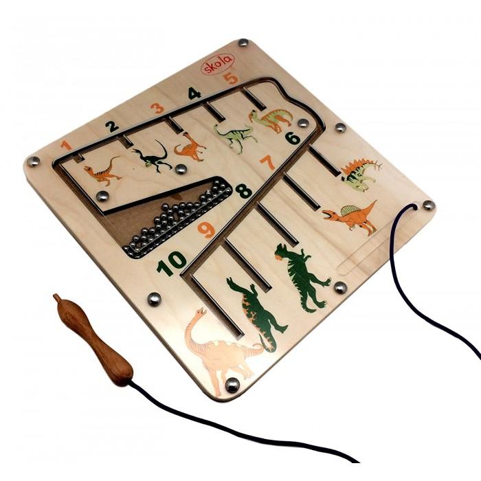Skola Toys Dino Magnetic Number Maze