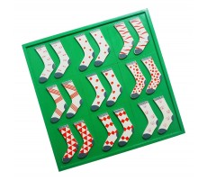 Skola Toys Sock Twins Patterns - Pair, Match & Learn