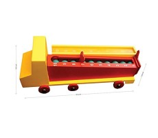 Skola Toys Subtraction Dump Truck - Roll & Minus
