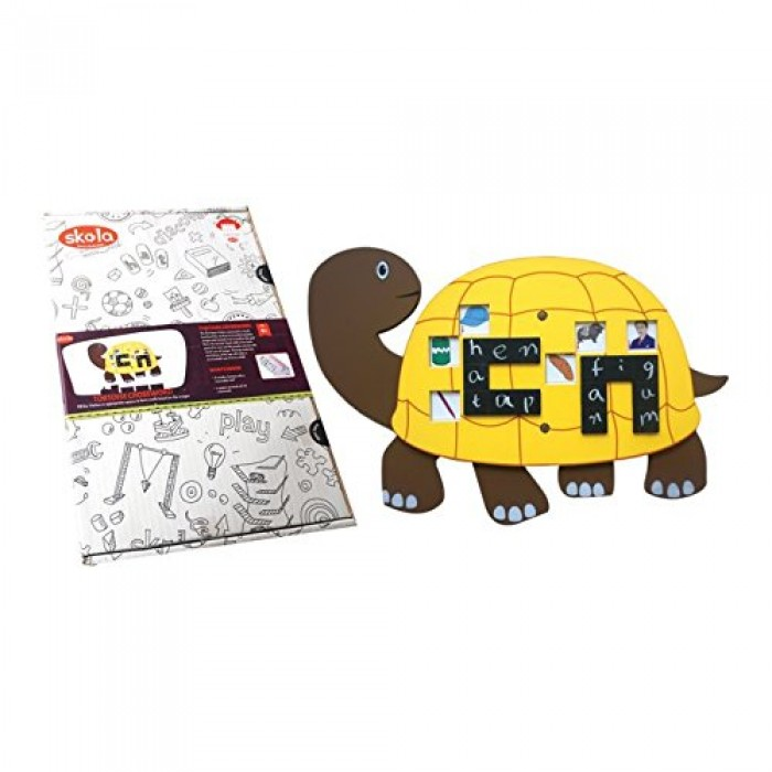 Skola Toys Tortoise Crossword - Master 3 Letter Words