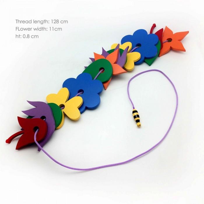 Skola Toys Flowers & the Bee - Thread & Learn