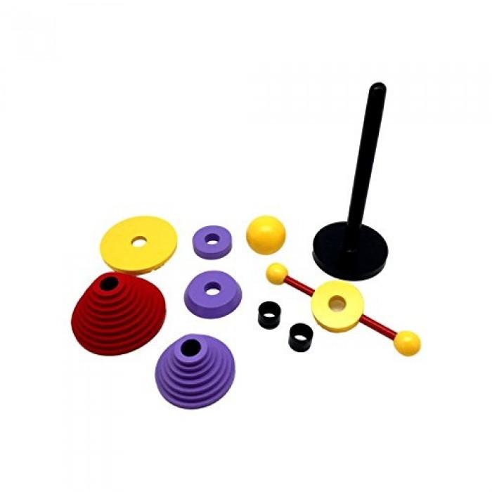 Skola Toys Stacking Belle - Stack, Sort & Build